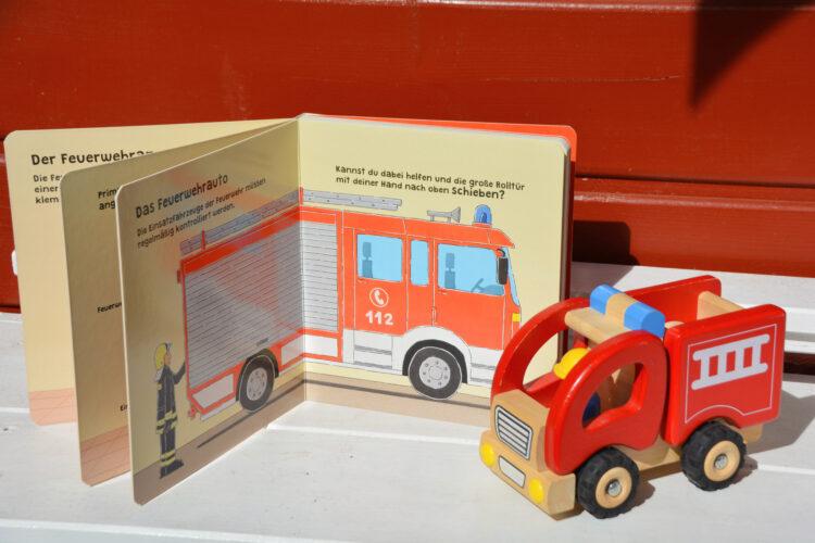 Mitmachbuch bei der Feuerwehr