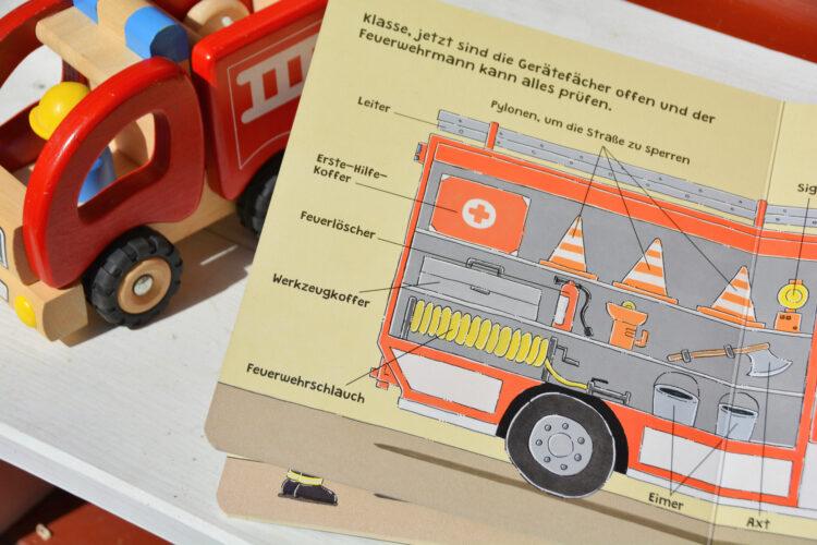 Nico Sternbaum Mitmachsachbuch Feuerwehr