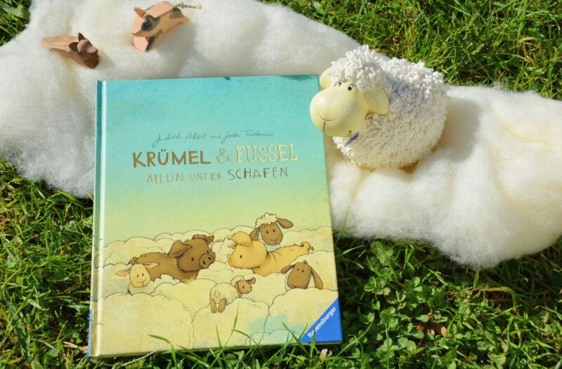 Krümel und Fussel – Allein unter Schafen: Määäähr von den süßen Wollschweinen!