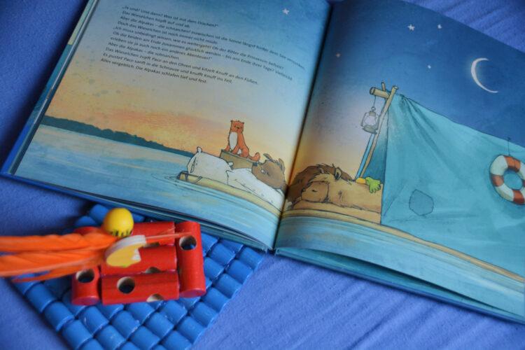 Die Alpakas wünschen Gute Nacht!