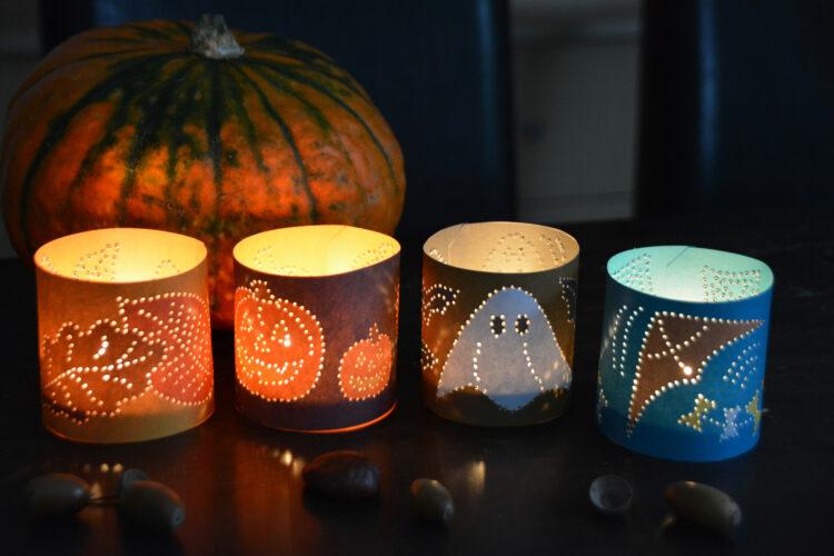 Prickeln für den Herbst und Halloween