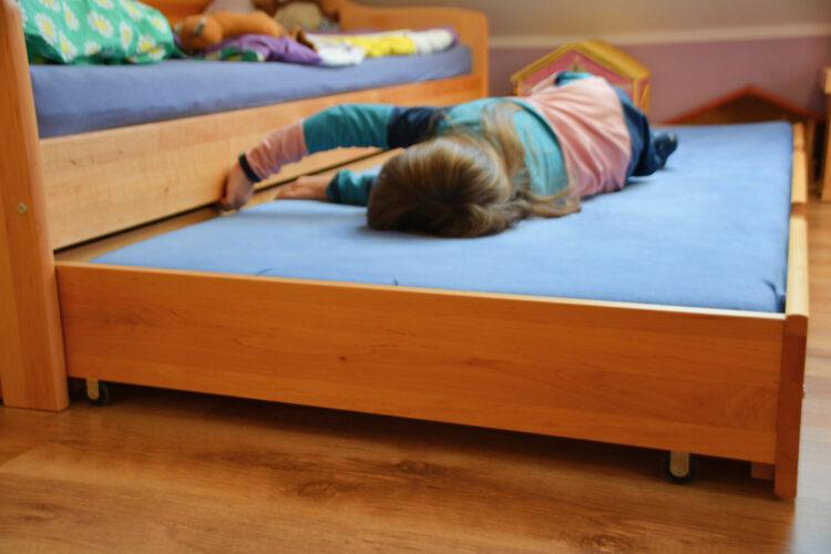 Übernachten beim Kindergartenfreund