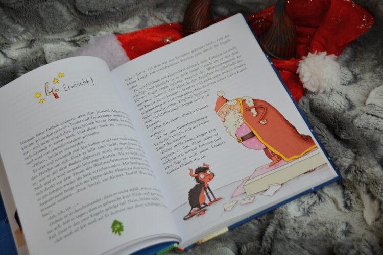 Weihnachtsmann sammelt Wunschzettel