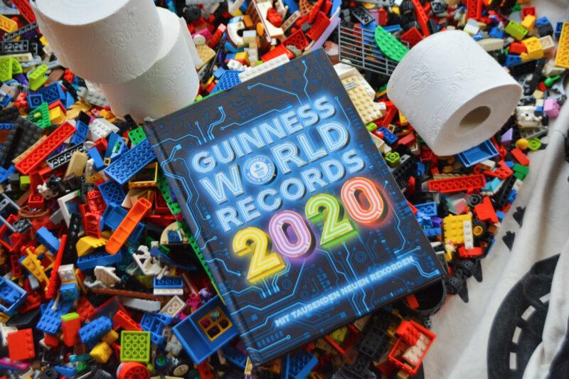 Wer von uns knackt einen Weltrekord? – Zeit für Familien-Rekorde mit dem Guinness World Records 2020 + Gewinnspiel