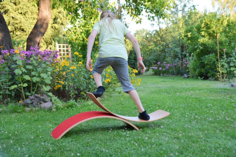 Balance Board Gleichgewicht