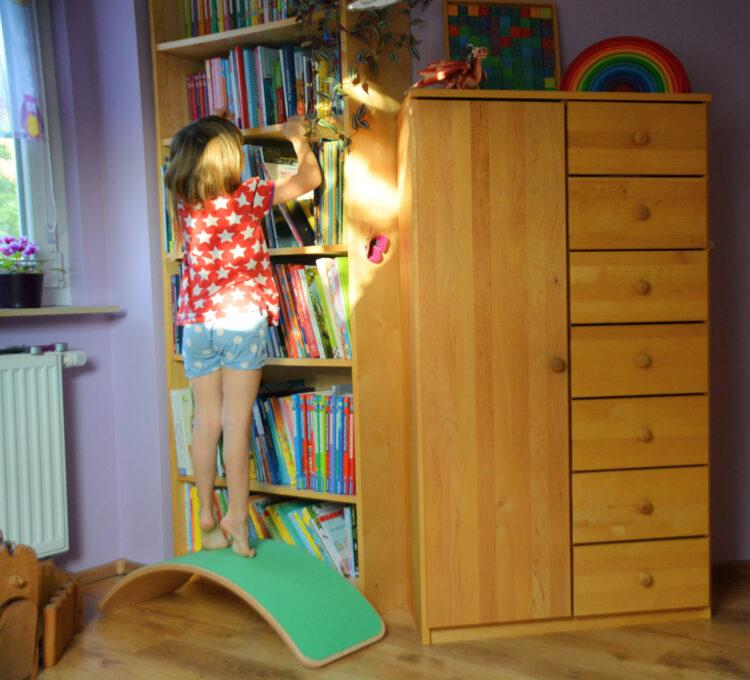 Wobbel im Kinderzimmer