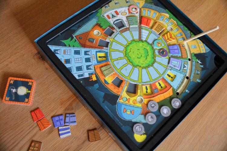 kooperatives Gesellschaftsspiel für Kinder
