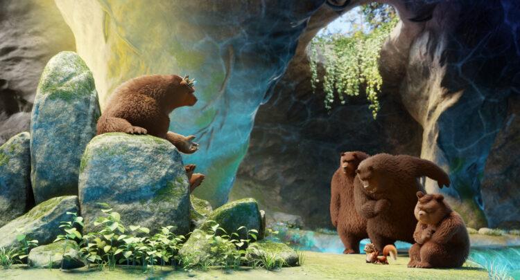 Bärenkönig Bantur hat den Wasserstein geklaut
