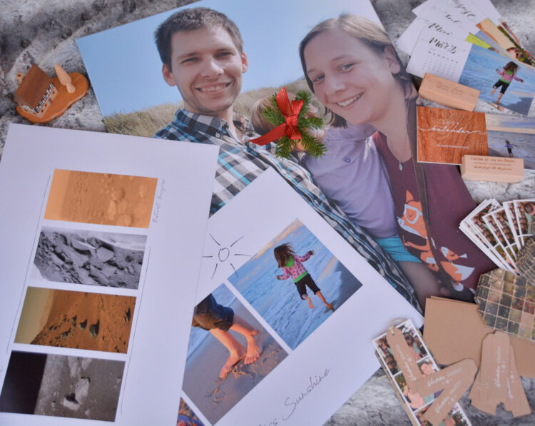 Fotogeschenke: Wandbilder, Fotokalender, Weihnachtskarten