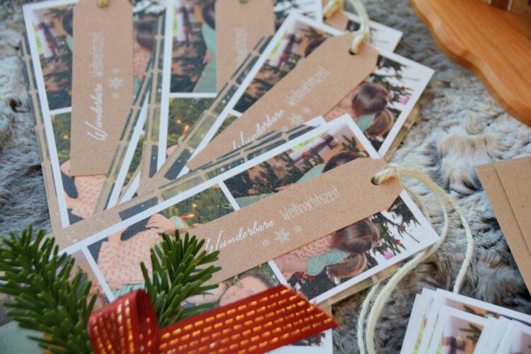 Fotoheschenke Weihnachtskarten Sendmoments