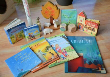 Kinderbuchtipps zur Taufe: Mit Bilderbüchern den Glauben festigen
