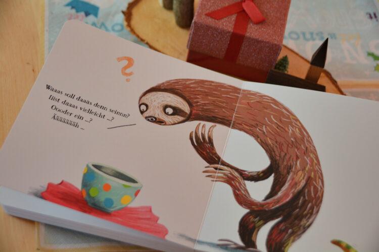 Faultier im Kinderbuch