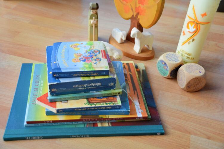 Kinderbücher zur Taufe: Schutzengel, Gebete, Jesus, Kirche