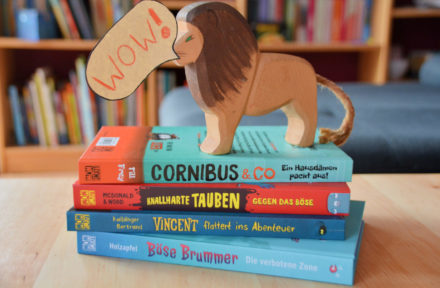 Neues Leseerlebnis mit Loewe WOW! – Hier greift wohl jedes Kind zum Buch!