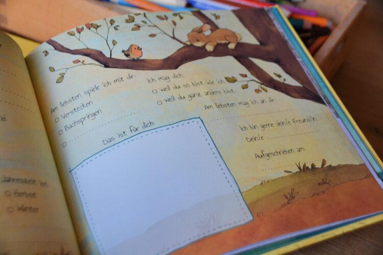Meine Kindergarten Freunde Freundebuch