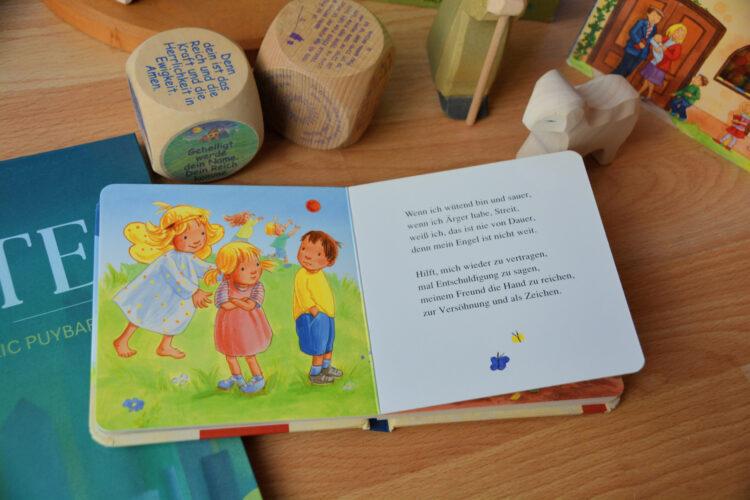 Kindergebete im Kinderbuch
