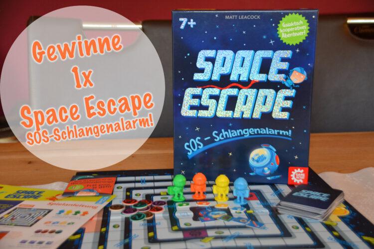 Space Escape Gewinnspiel