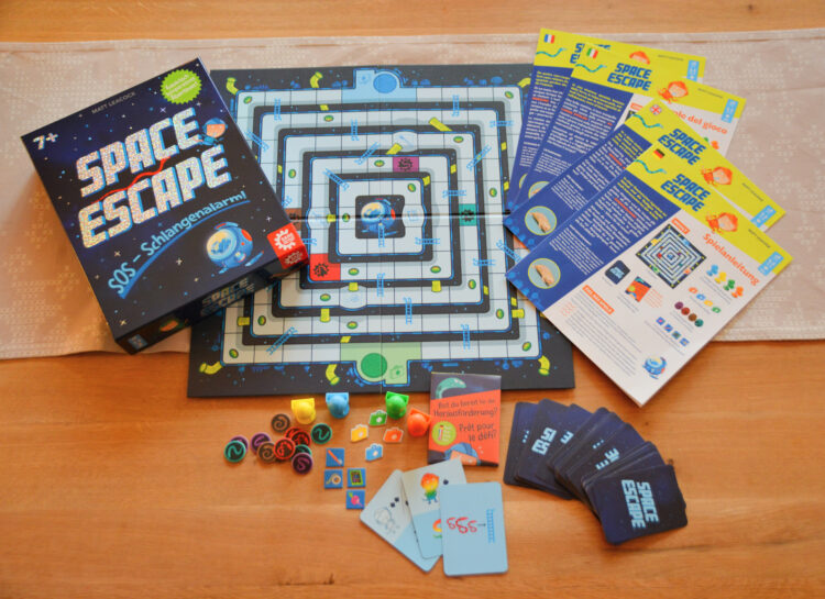 Space Escape Brettspiel