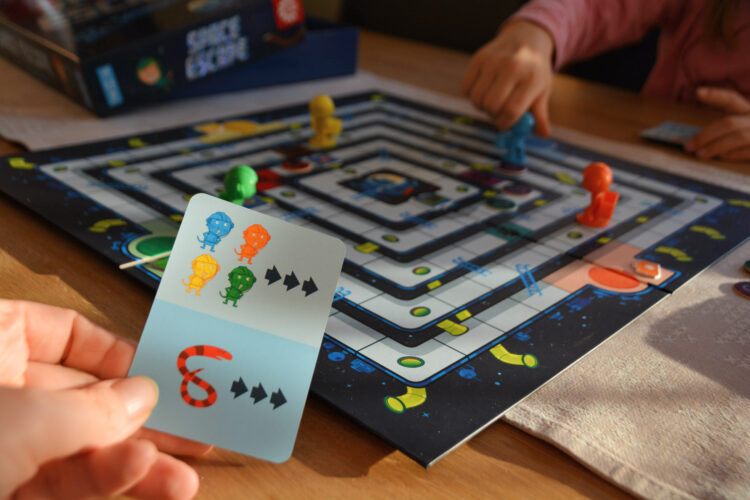 Space Escape Brettspiel Kinder