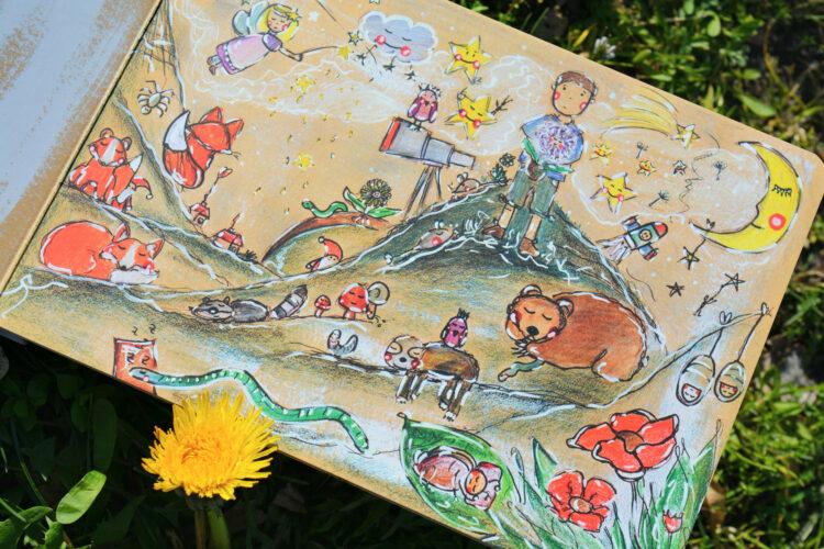Sarah Settgast Der kleine Junge Blume