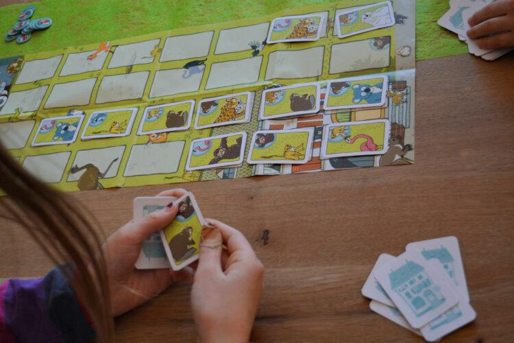 Gesellschaftsspiel Schule der magischen Tiere