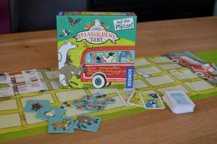 Die Schule der magischen Tiere: Auf die Plätze! – Wer sitzt vorne im Bus? + Verlosung