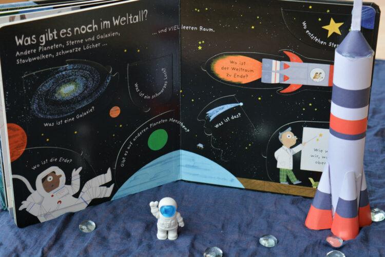 Reise in den Weltraum Klappen