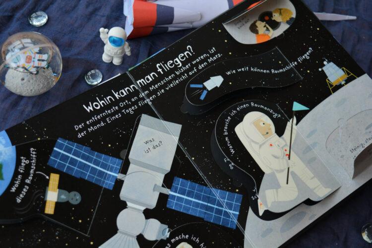 Reise in den Weltraum Kinderbuch