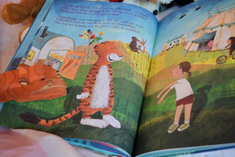 Kinderbuch Wenn Line nachts nicht schlafen kann