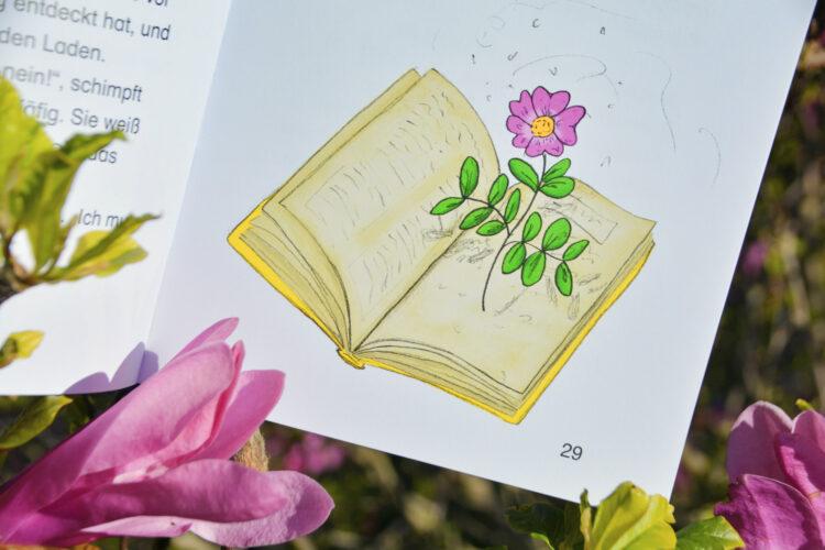 Magische Blume Blumenbuch