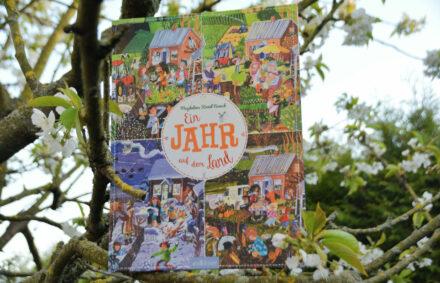 Heute ein Buch!: Ein Jahr auf dem Land – Wimmeliger Spaß auf dem Bauernhof! + Verlosung