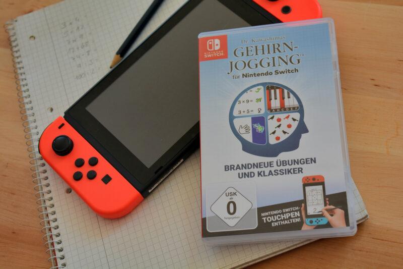 Dr. Kawashimas Gehirn-Jogging für Nintendo Switch: Denksport mit Spaß!