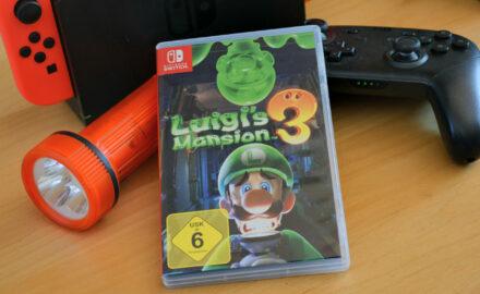 Luigi´s  Mansion 3 für die Nintendo Switch: Geisterjagd und Rätsel im Grusel-Hotel