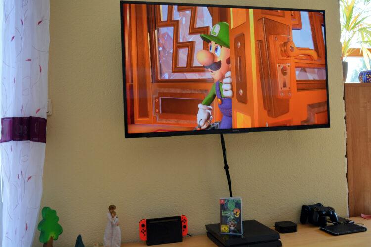 Luigi betritt das Luxushotel