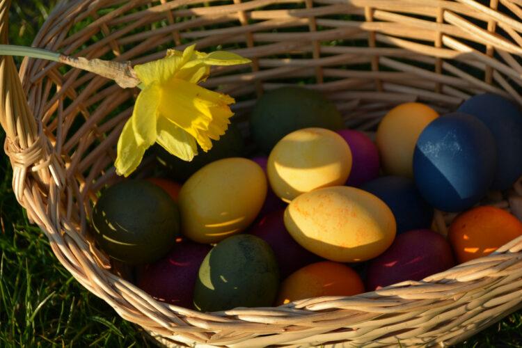 Der gefüllte Osterkorb