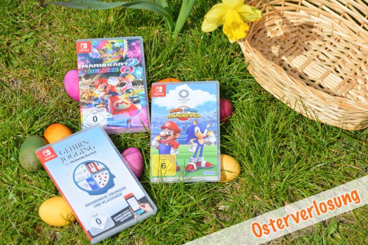 Osterkorb-Verlosung mit Nintendo Switch