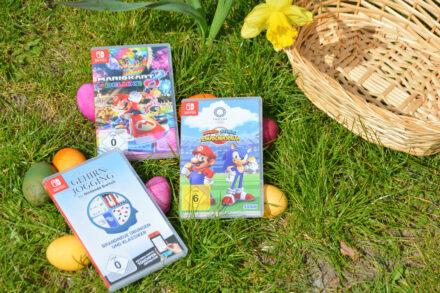 Osterverlosung: Ein Osterkorb voll Spielspaß für die Nintendo Switch!