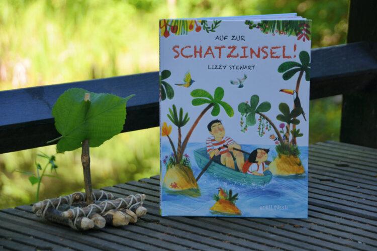 Bilderbuch Auf zur Schatzinsel!