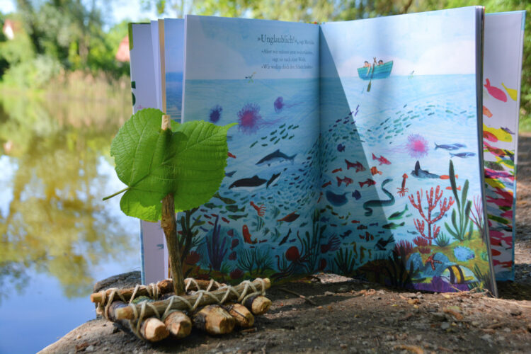 Fantasievolles Kinderbuch mit Papa und Tochter