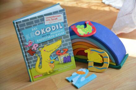 Lesenlernen mit tierisch viel Spaß: Das Okodil und der wunderbare Buchstaben-Basar