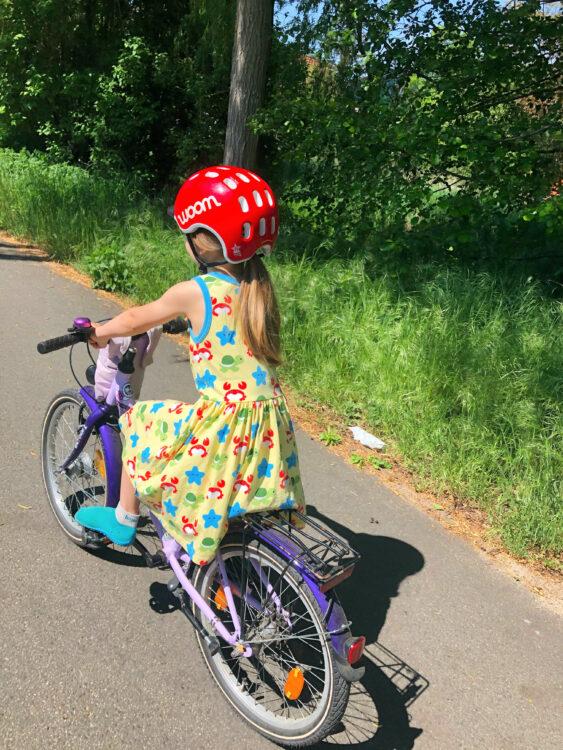 Strand-Tag oder Fahrradtour