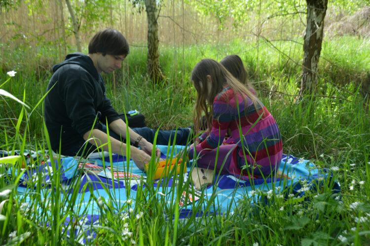 Picknick im Wald Geburtstag