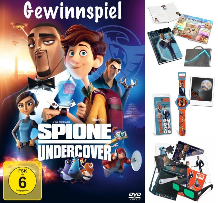 Spione Undercover Gewinnspiel