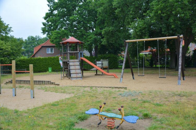 Spione-Parcours Spielplatz