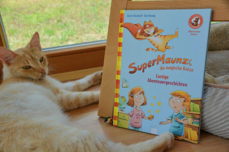 Der Bücherbär – 1. Klasse: SuperMaunz, die magische Katze + Verlosung