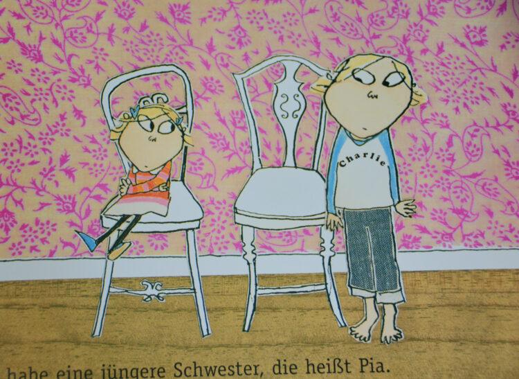 Charlie und Lola Pia