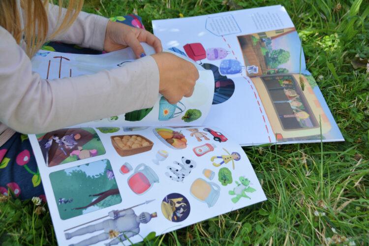 Stickerbuch Conni und das Geheimnis