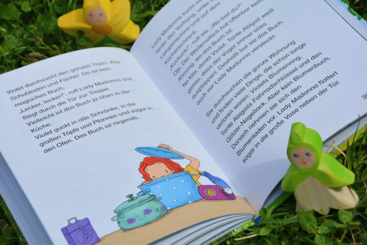 Violet sucht das magische Blumenbuch