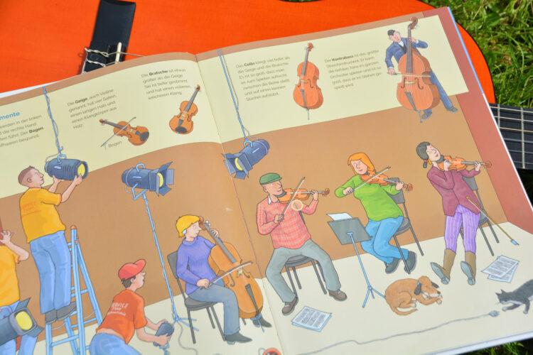 Musik-Kinderbuch mit Sound