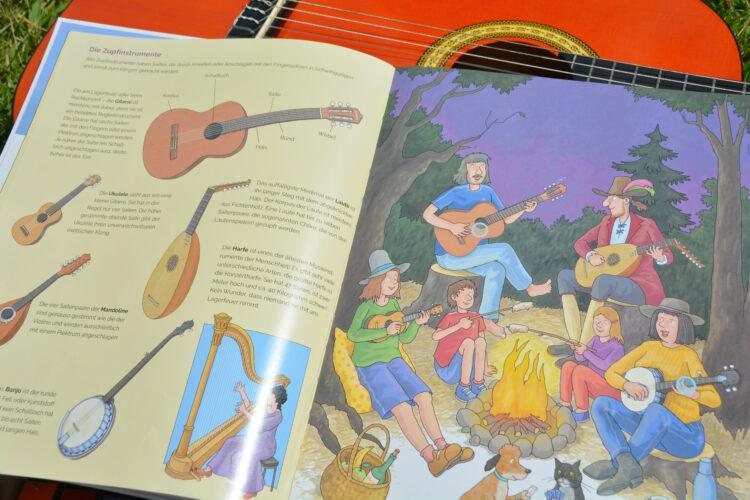 Zupfinstrumente Musik für Kinder